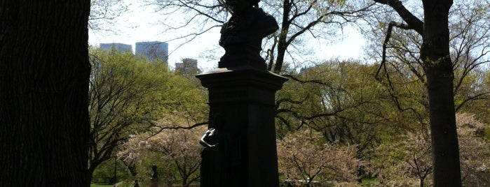 Ludwig van Beethoven Bust is one of Park Highlights of NYC.
