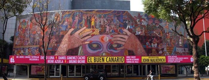 Teatro de los Insurgentes is one of FOROS, CONCIERTOS Y MAS.