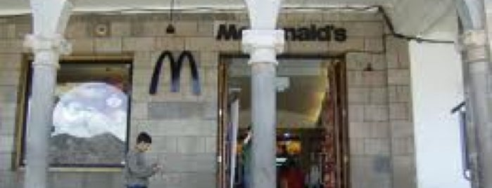 McDonald's is one of Peru.