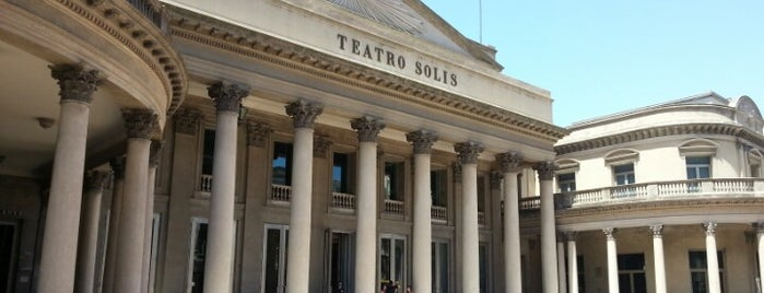 Teatro Solís is one of Montevideo.