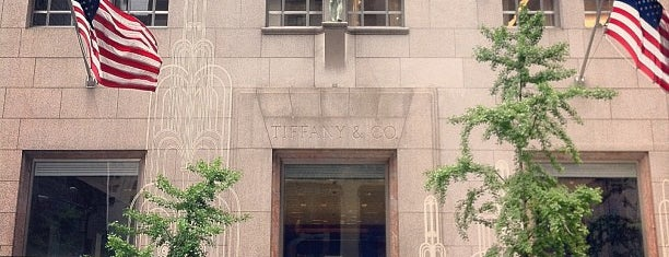 Tiffany & Co. is one of Coffee Places NYC.