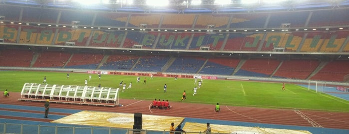 Stadium Nasional Bukit Jalil is one of All-time favorites in Malaysia.