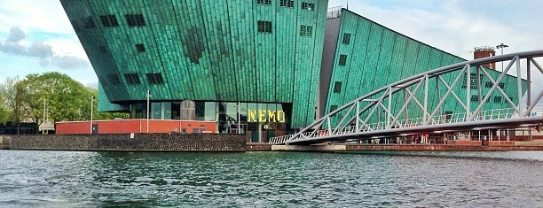 NEMO Science Center is one of Amsterdam.