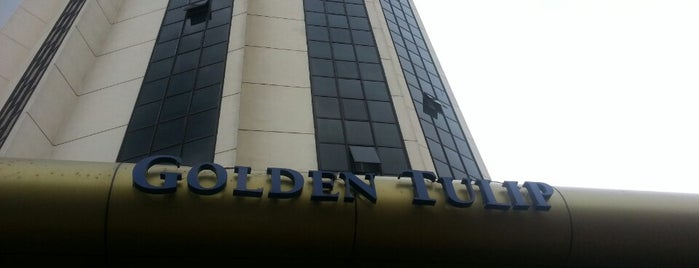 Golden Tulip Hotel is one of Lista Pessoal.