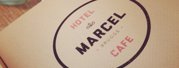 Hotel en Cafe Marcel is one of Terrasse.
