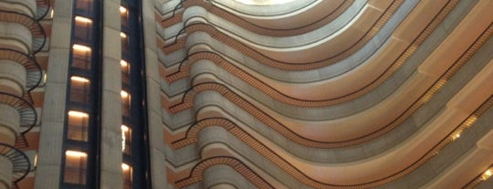 Atlanta Marriott Marquis is one of Hotels and Resorts.