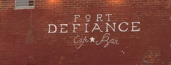 Fort Defiance is one of #BKLOVESuberX.