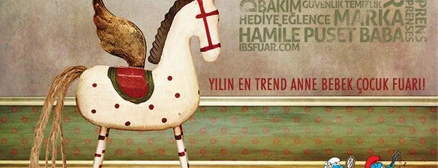 İBS Anne Bebek Çocuk Fuarı is one of Posti che sono piaciuti a Hatice Sural.