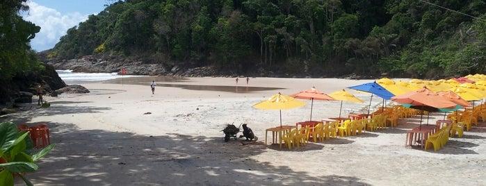Praia da Ribeira is one of Itacaré.