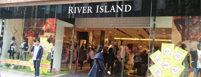 River Island is one of London'13.