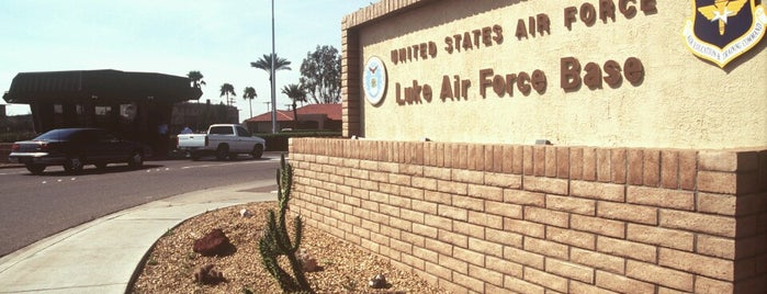 Luke Air Force Base is one of AFBs.