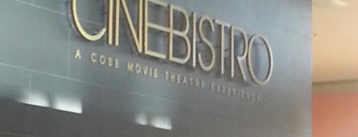 CinéBistro at Dolphin Mall is one of restaurants to try.