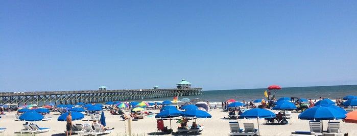 Folly Beach is one of Charleston, SC.