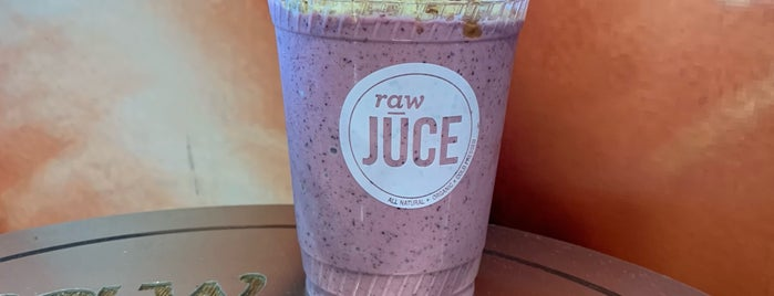 Raw Juce is one of My Favorite Things.