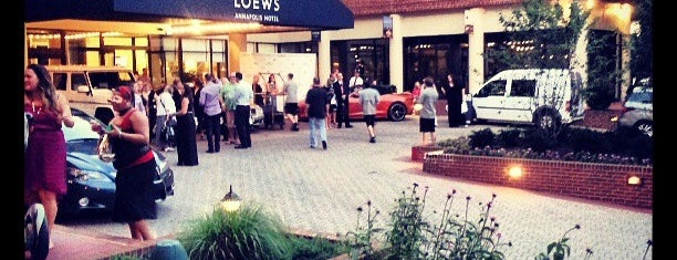 Loews Annapolis Hotel is one of Maryland Green Travel Hotels and Inns.