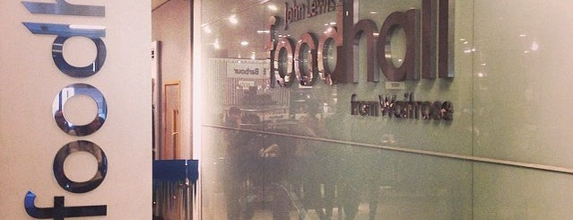 John Lewis Food Hall from Waitrose is one of London.