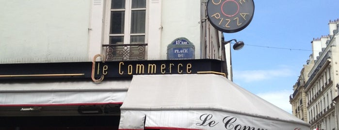 Le Commerce Café is one of Manger.