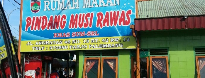 RM Pindang Musi Rawas is one of Top 10 restaurants when money is no object.