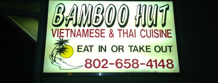 Bamboo Hut is one of Asian Restaurants in Burlington.