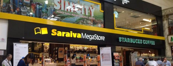 Saraiva MegaStore is one of Comercio e Serviços.