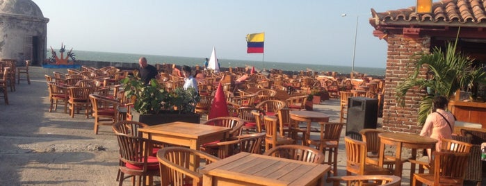 Café del Mar is one of Cartagena de Índias, Colombia.