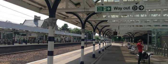 Durham Railway Station (DHM) is one of East Coast Network.