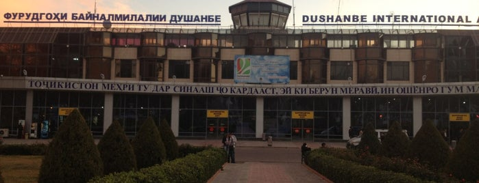 Dushanbe International Airport (DYU) is one of Airports I visited.