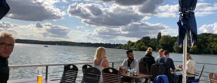 "Restaurantschiff ""Alte Liebe"" is one of Berlin."