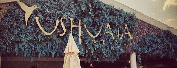 Ushuaïa Beach Club is one of it place.