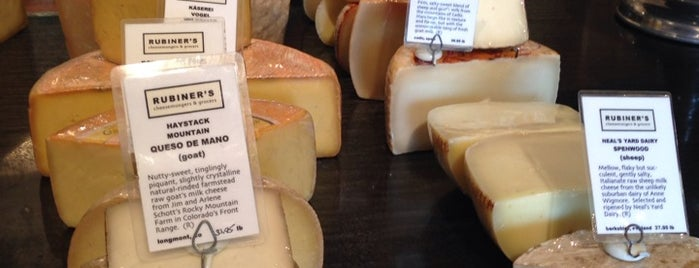 Rubiners Cheesemongers is one of A list of spots.