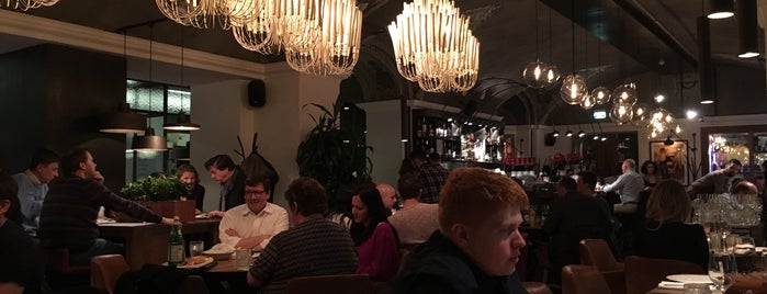 Рыбы нет is one of moscow interesting restaurants.