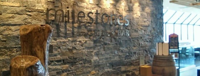 Milestones Grill + Bar is one of Tasty Bites and Sips.