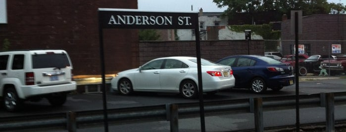 NJT - Anderson Street Station (PVL) is one of New Jersey Transit Train Stations I Have Been To.