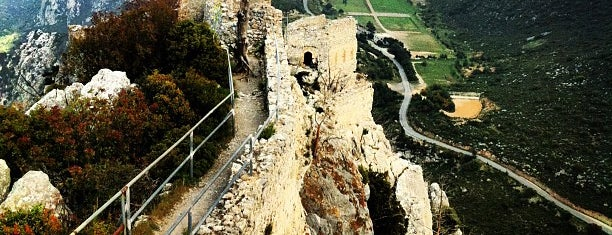 Saint Hilarion Castle is one of Cyprus.