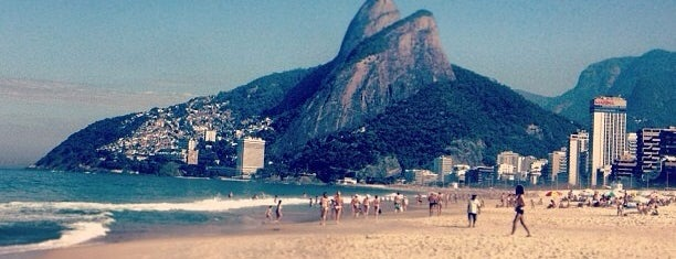 Praia de Ipanema is one of Life.