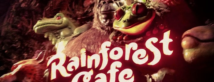 Rainforest Cafe is one of Entertainment.