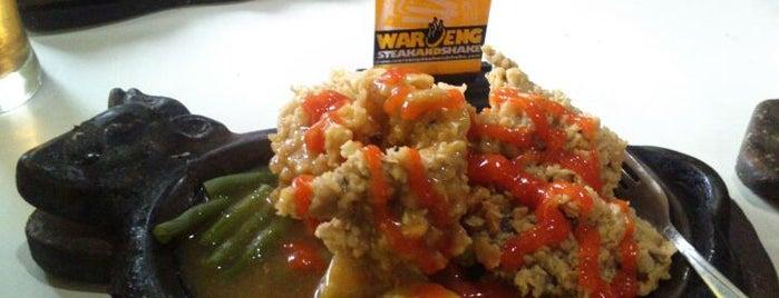 Waroeng Steak & Shake is one of Hunting foods.