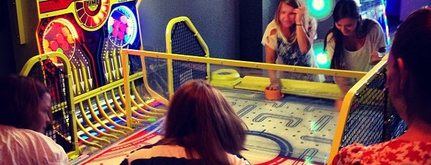 Game-X is one of Places to try: fun.