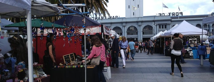 Embarcadero Outdoor Crafts Market is one of San Francisco: Living in the City.