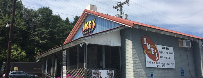 Ike's Korner  Grille is one of 20 favorite restaurants.