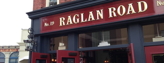 Raglan Road Irish Pub is one of Restaurants.