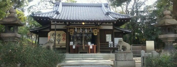 安居神社 is one of 気になるべニューちゃん 関西版.
