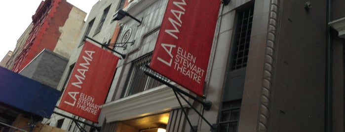 La Mama is one of The 13 Best Performing Arts Venues in the East Village, New York.