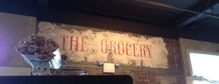 The Grocery is one of Charleston SC.