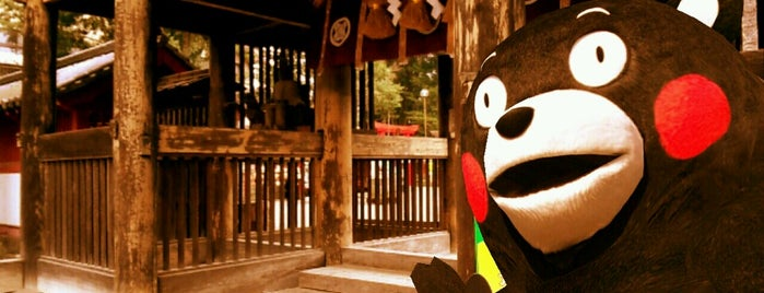 Aoi-Aso shrine is one of 神社.