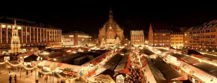 Nürnberger Christkindlesmarkt is one of Nürnberg, Deutschland (Nuremberg, Germany).