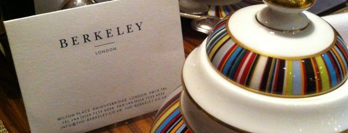 The Berkeley is one of Favourite Hotels.