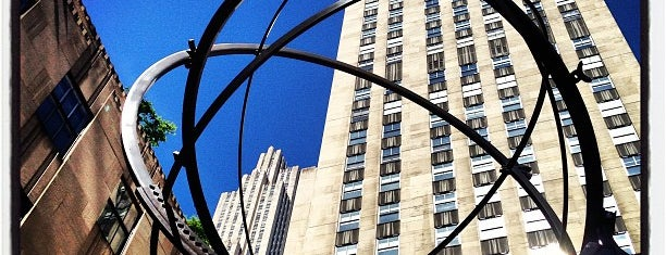 Rockefeller Center is one of NYC insider's tips.