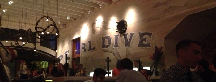 Pearl Dive Oyster Palace is one of dc drinks + food + coffee.