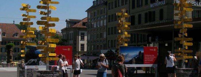 Waisenhausplatz is one of Hip to Be Square!.